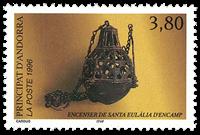 Fransk Andorra 1996 - Encensoir