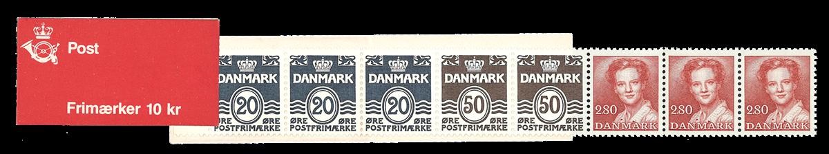 Danmark 1985 - Frimærkehæfte - Postfrisk
