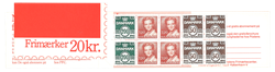 Danmark 1989 - AFA nr. 4 - Frimærkehæfte