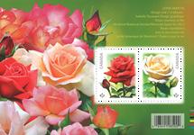 Canada - Roser - Postfrisk miniark