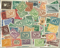 Finland - 120 different mint stamps
