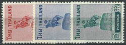 Thailand - Katalognr. 322-324 - Ubrugt