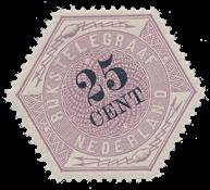 Netherlands - NVPH TG 7 - Unused