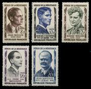 France 1957 - YT 1100-04 - Mint