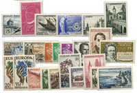 France 1957 - Selection of stamps - Mint