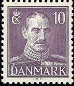 Denmark 1945 - Christian X 10 øre - Mint