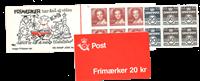 Danmark 1985 - Frimærkehæfte - AFA 2