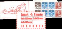 Denmark - Stamp booklet 1983 - AFA no.  8
