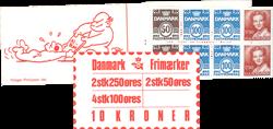 Danmark 1983 - Frimærkehæfte - AFA 8