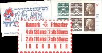 Denmark - Stamp booklet 1979 - AFA no.  5