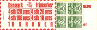Denmark - Stamp booklet 1977 - AFA no.  4