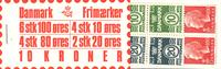Denmark - Stamp booklet 1976 - AFA no.  3