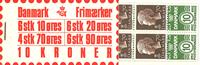 Denmark - Stamp booklet 1974 - AFA no.  2