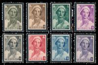 Belgien 1935 - OBP 411-18 - Ubrugt