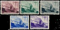 Belgium 1938 - OBP 466-70 - Unused