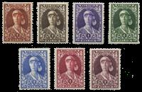 Belgien 1931 - OBP 326-32 - Ubrugt