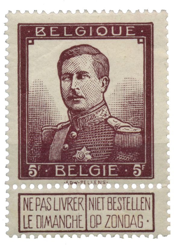 Belgien  - OBP 122 - Stemplet