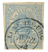 Luxembourg - Michel 6a - Cancelled