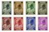 Belgien 1937 - OBP 458-65 - Ubrugt