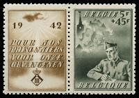 Belgium 1942 - OBP 602 - Unused