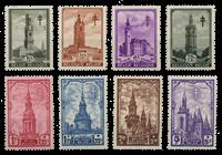 Belgium 1939 - OBP 519-26 - Unused