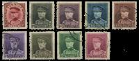 Belgien 1931 - OBP 317-24 - Stemplet