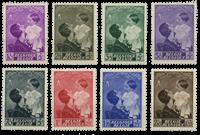 Belgium 1937 - OBP 447-54 - Unused