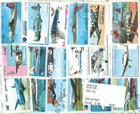 Aircraft - 250 stamps