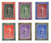 Luxembourg -Child Welfare - Complete series - Unused (Mi. 303-08)