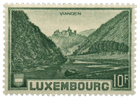 Luxembourg - Landscapes 1935 - Unused (Mi. 283)