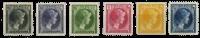Luxembourg - Grand Duchess Charlotte, 1930 - Cancelled (Mi. 221-226)