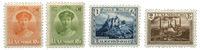 Luxembourg - Landscapes and Charlotte 1925- Unused  (Mi. 161-164)