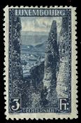 Luxembourg - 1923 Landscapes II 3FR.- Unused (Mi. 147)