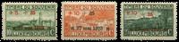 Luxembourg 1923 - Michel 144-146 - Unused