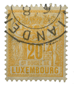 Luxembourg - Michel 51 - Stemplet