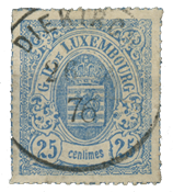 Luxembourg - Michel 20a - Cancelled
