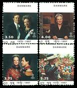 Denmark - Queen Margrethe 1972-1997 - 25 years royal anniversary