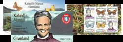 Grønland hæfte nr. 5 stemplet