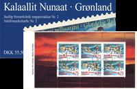 Grønland - Julehæfte nr. 2 - Stemplet
