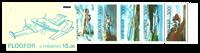 Faroe Islands - Planes 1985 - Booklets - AFA no. 119-123