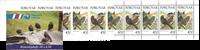 Færø.Strandfugle hæfte 1998 AFA 324-325
