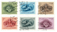 Luxembourg 1955 - Cancelled - Michel 541-46
