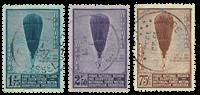 Belgium 1932 - OBP 353-55 - Cancelled