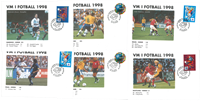 Envelopes from Norwegian matches - Opening match  and final match