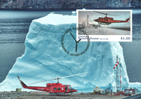 Greenland - Aviation - Maxi Cards