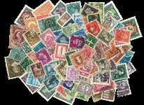Hele verden - frimærkepakke 100 forskellige før 1950