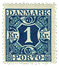 Danmark 1921-25 - AFA nr.15 Postfrisk