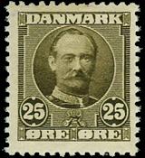 Denmark 1907 - AFA no. 57 mint