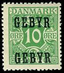 Danmark 1923 - AFA nr.1 Postfrisk