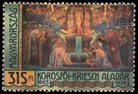 Ungarn - Körösföi-Kriesch - Postfrisk frimærke